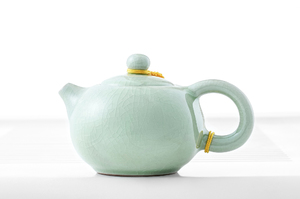 Celadon Сrackle Glazed Set For Chinese Style Tea Ceremony